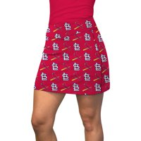 St. Louis Cardinals Loudmouth Women's Pocket Active Skort - Red/Navy