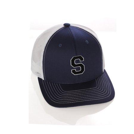 Team Sports Custom Initial Letter S Trucker Hat Adjustable Snapback  Baseball Cap - Walmart.com 91be9faeffb