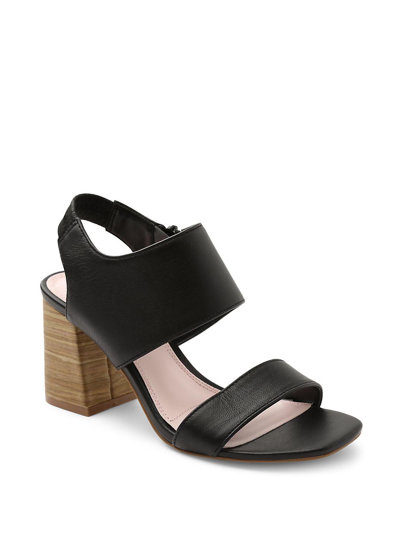 Elianna Leather Heeled Sandals