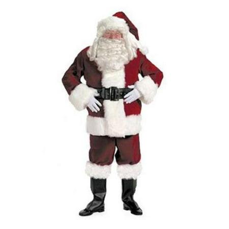 HALCO 7096-P Extra Large Velvet Pants Santa Suit for 7096