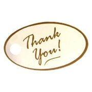 Make N Mold 5183 Thank You Lollipop Tag, Pack of 12