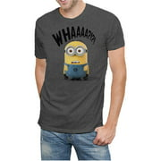Men's Despicable Me License WHAAAA Graphic Tee