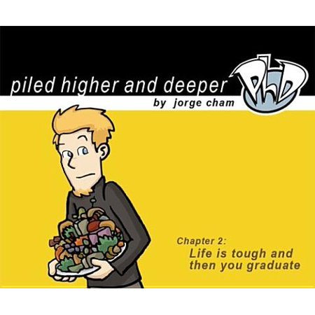 Life Is Tough and Then You Graduate : The Second Piled Higher and Deeper Comic Strip - Halloween Comic Strips