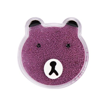 Insten Liquid Quicksand Floating Glitter Adhesive 3M Decal Sticker for Cellphone any Flat Surface - Bear/Pink - image 3 of 3