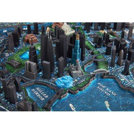 4D Cityscape 4D Batman Gotham City Time Puzzle (1000 Piece) - image 7 of 10