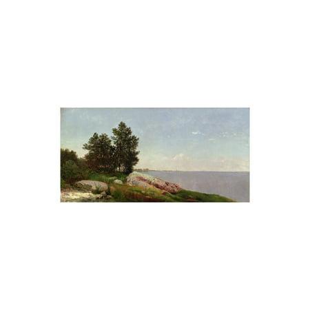 Long Island Sound at Darien Print Wall Art By John Frederick