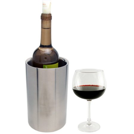 Wine Bottle Chiller - Double Walled Stainless Steel White Wine Bottle