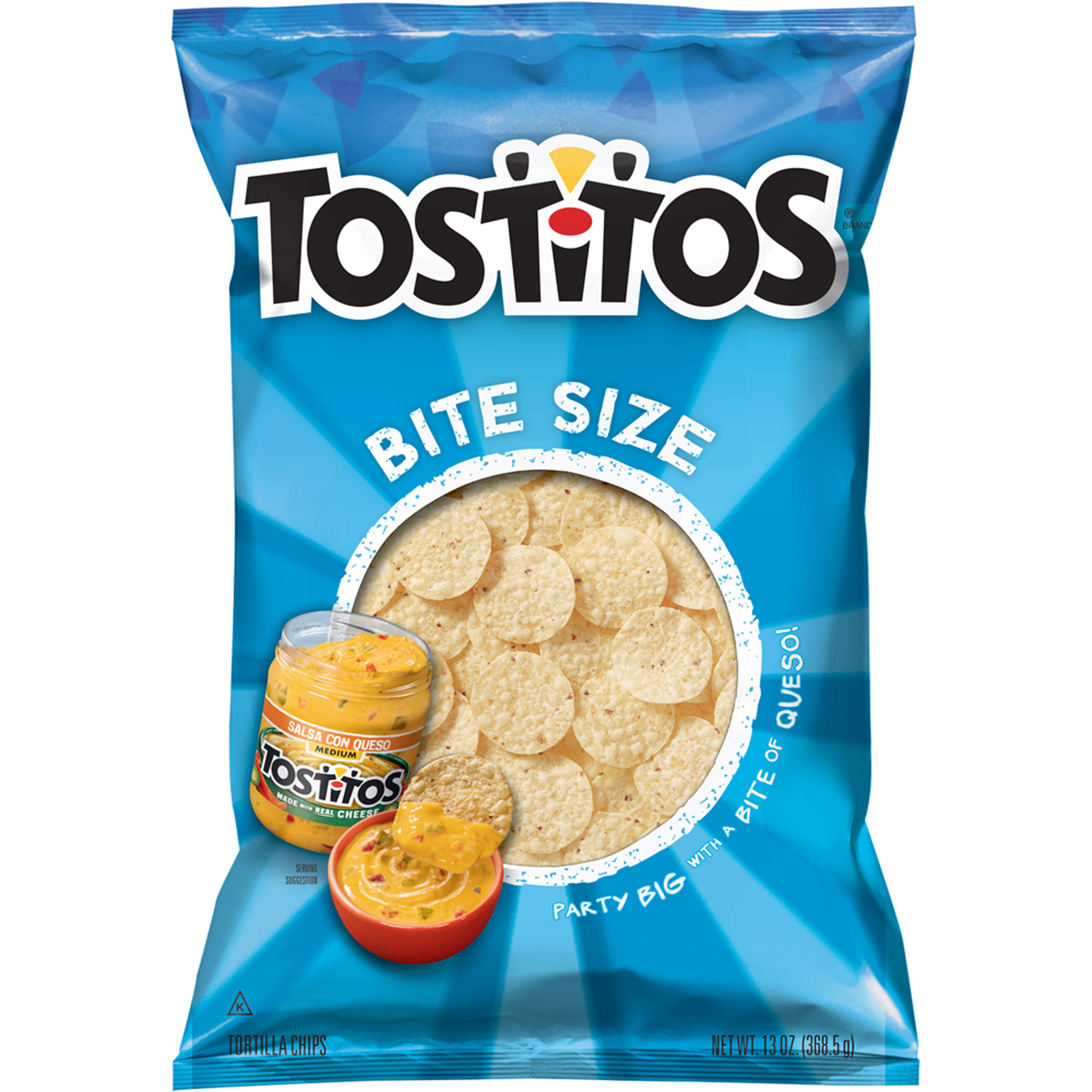 Tostitos Bite Size Rounds Tortilla Chips, 13 oz.
