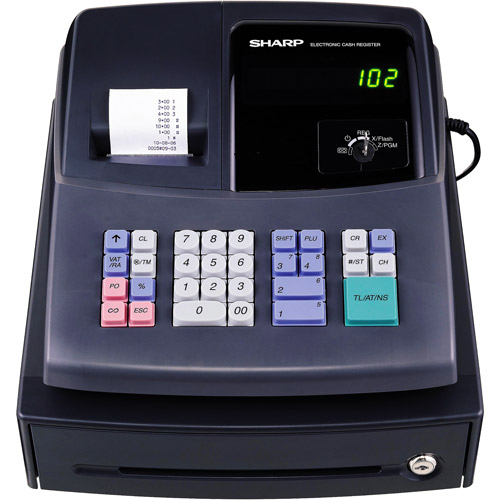 sharp electronics xe a106 cash register black microban walmart com rh walmart com Sharp XE-A106 Ink Roller sharp xe-a106 cash register user manual