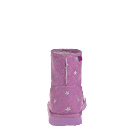Josmo Star Power Faux Shearling Cozy Mid-Calf Winter Boot (Toddler Girls)