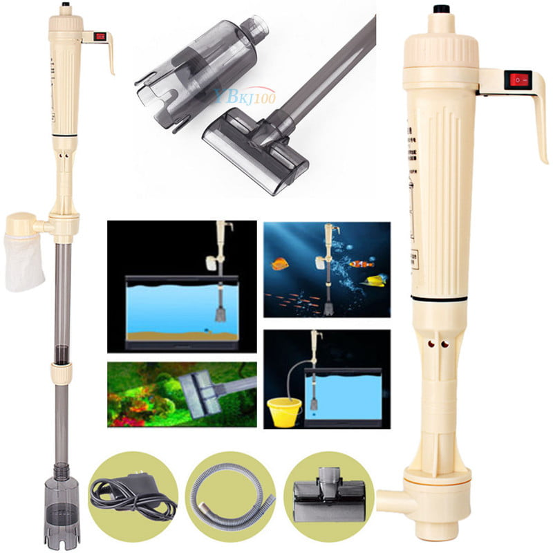 Battery Aquarium Gravel Cleaner,Electric Washer Siphon Vacuum Water Pump Filter for Aquarium Fish Tank... by