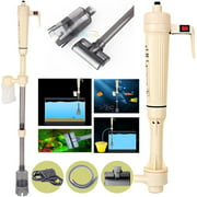 Battery Aquarium Gravel Cleaner,Electric Washer Siphon Vacuum Water Pump Filter for Aquarium Fish Tank (Battery Not included)