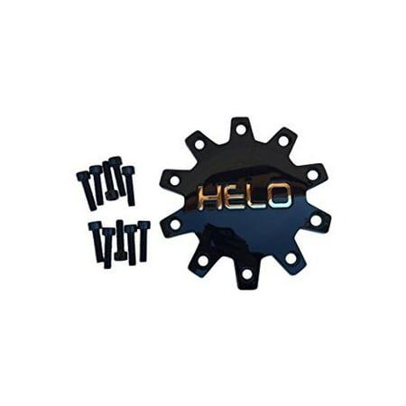 Black Center Cap (Helo 875 M-875-2 M875-3 Black Wheel Center Cap )