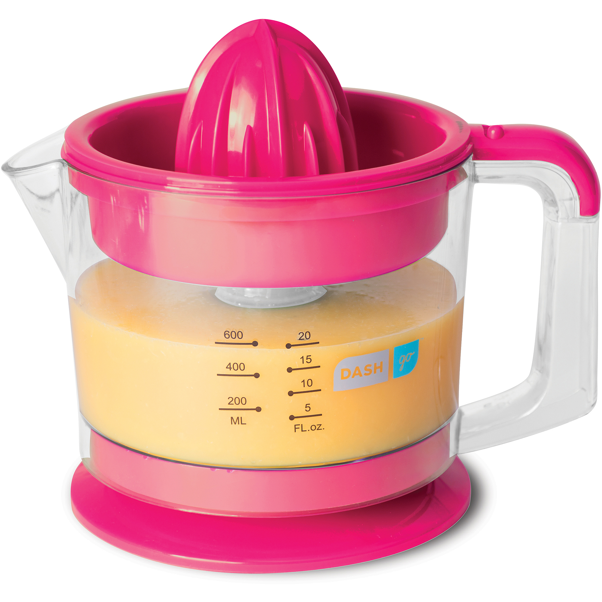 Dash Go Citrus Juicer, Pink