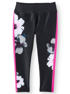 0dfff4b32c2608 Product Image Floral Print Active Capri Legging (Little Girls & Big Girls)