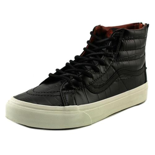 Vans Sk8-Hi Slim Zip Women US 7 Black Sneakers