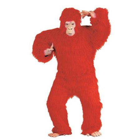 RGCostumeCostume 45052 Red Gorilla - Adult Xl - One Size