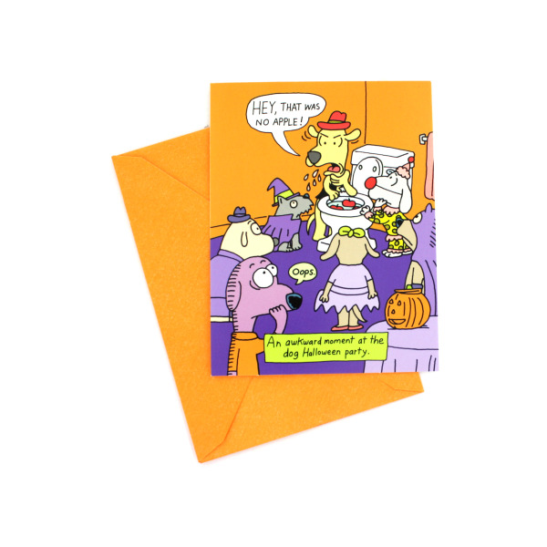 Funny Halloween Invitations (Pack Of 24)