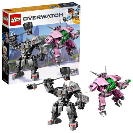 LEGO Overwatch D.Va & Reinhardt 75973 Building Set (455 Pieces)