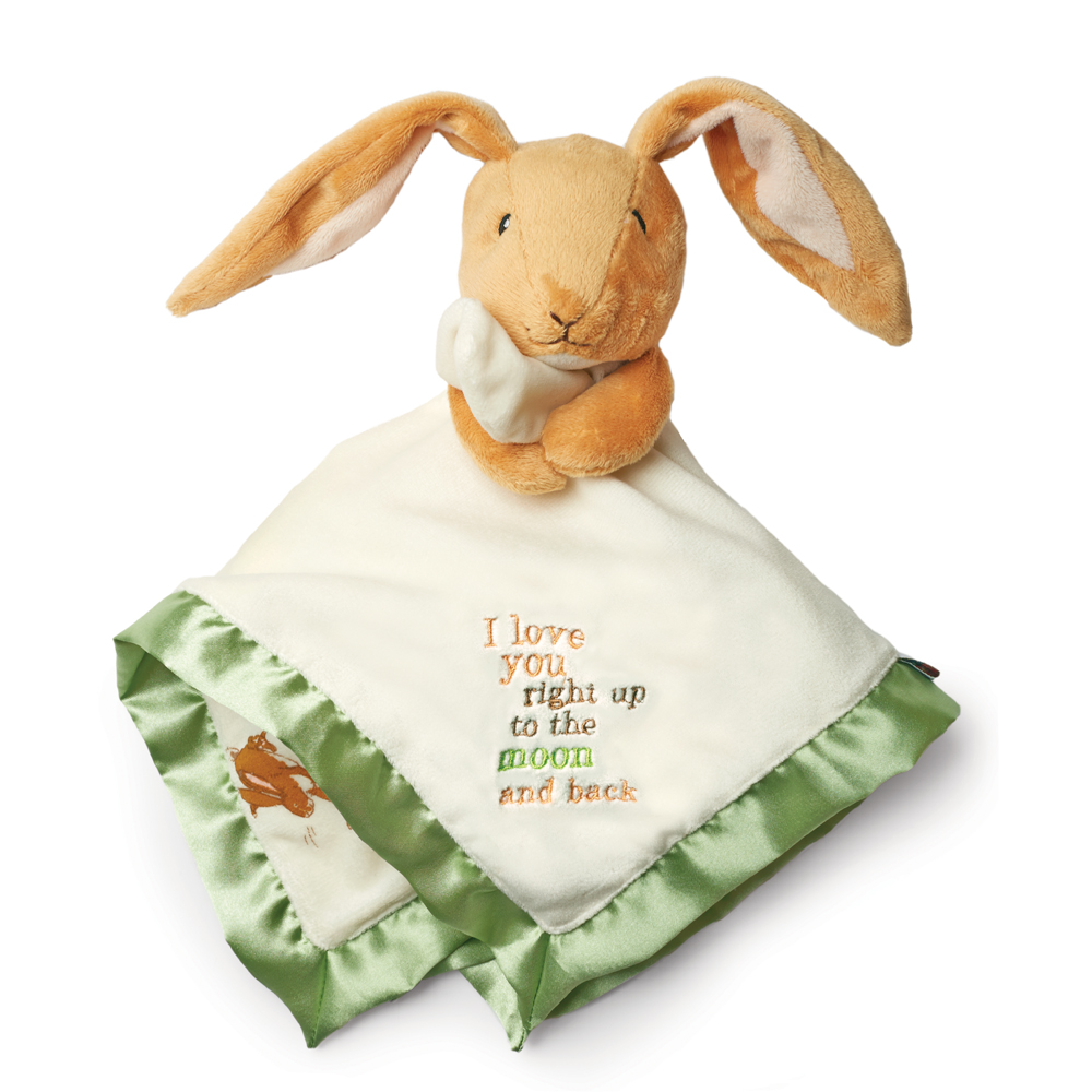 Guess How Much I Love You: Nutbrown Hare Snuggle Blanky