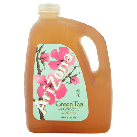 arizona green w ginseng honey tea 1 gallon 1 count walmart com