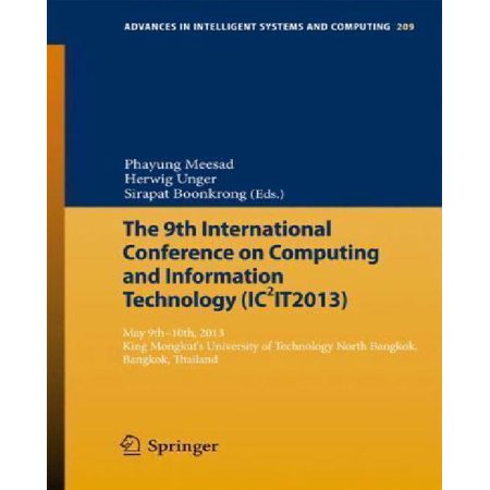 The 9th International Conference on Computing and Informationtechnology (Ic2it2013) - image 1 of 1
