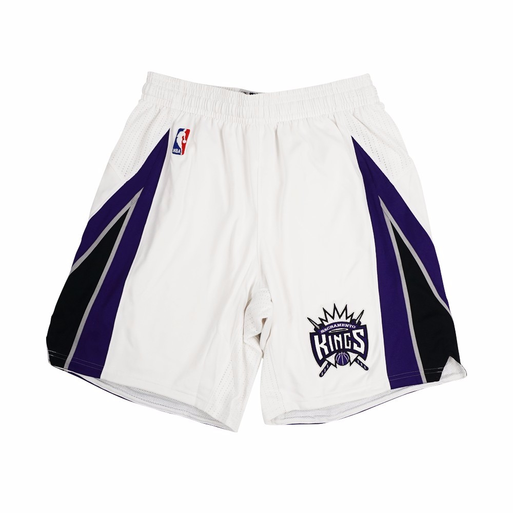 Sacramento Kings NBA Adidas White Authentic On-Court Home Climalite Game Shorts For Men