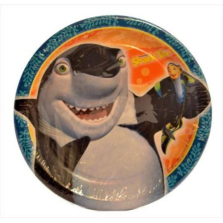 Shark Tale Small Paper Plates (8ct) - Paper Shark