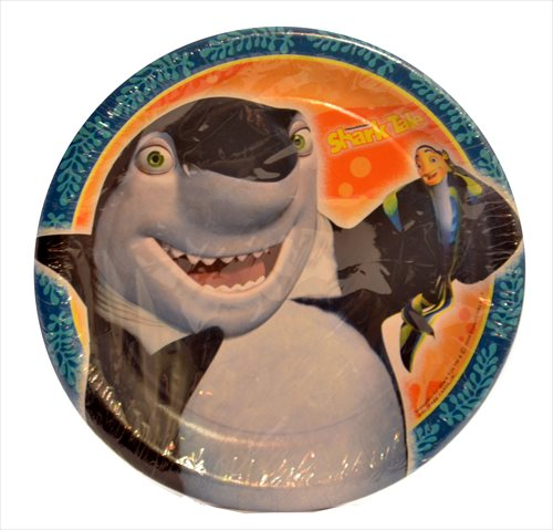 Shark Tale Small Paper Plates (8ct)