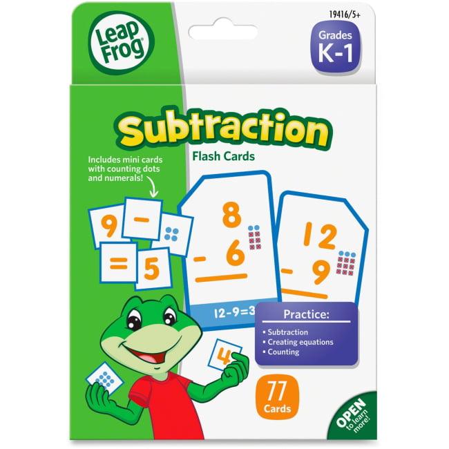 LeapFrog Subtraction Flash Cards