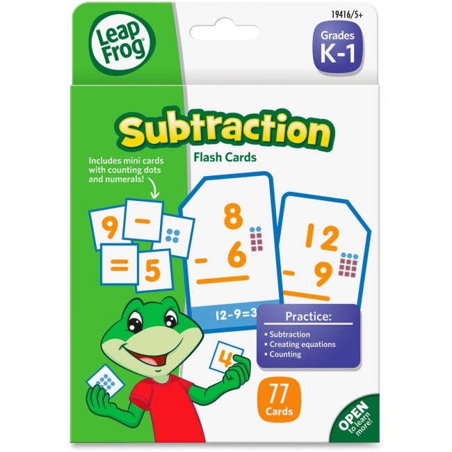 LeapFrog Subtraction Flash Cards