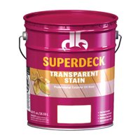 Superdeck Transparent Heart Redwood Oil Wood Stain 5 gal. - Case Of: 1