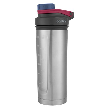 Contigo 24 Ounce Shake & Go Fit Thermalock Vacuum Insulated Stainless Steel Shaker