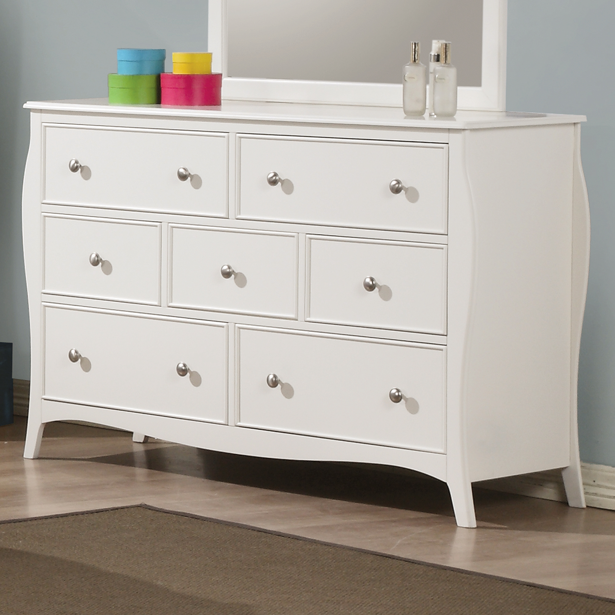 Coaster Dominique Dresser, White by Coaster of America