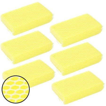Round Mesh Scrubber (Wideskall 6 Pcs Car Wash Nylon Mesh Bug Soft Scrubber Sponge )