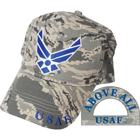U.S. Air Force Logo Camo Hat U.S.A.F.