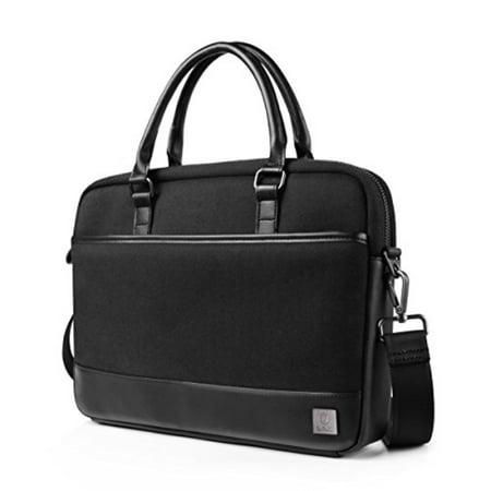 76f4e51a6d13 WIWU 15.6 Inch Laptop Shoulder Bag,Leather Messenger Bag Briefcase ...