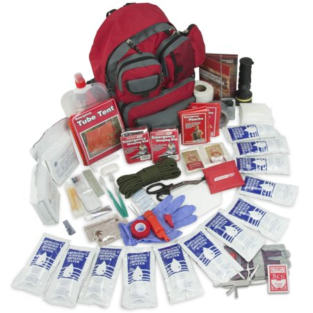 Emergency Zone Family Prep Survival 72 Hour Kit, 2 and  4 person