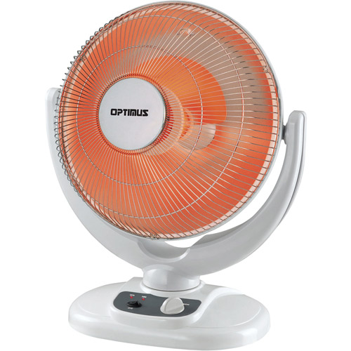 "Optimus 14"" Oscillation Dish Heater"