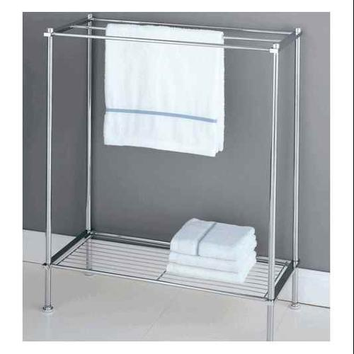 Metro Towel & Clothes Drying Rack in Chrome Plate