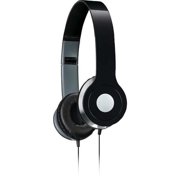 iLive iAH54B On-Ear Headphones, Black