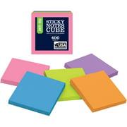 """WalMart Notes Cube, 2"""" x 2"""""""