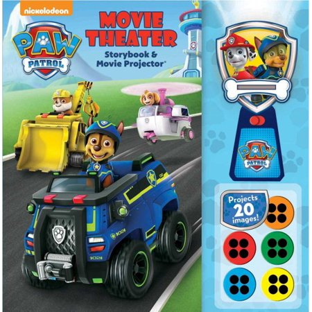 Paw Patrol Movie Theater Storybook & Movie Projector