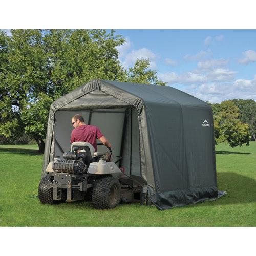 8' x 12' x 8' Peak Style Shelter, Green by ShelterLogic