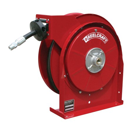 Reelcraft Premium Duty Compact Grease 3 8 In  Hose Reel    25 Ft