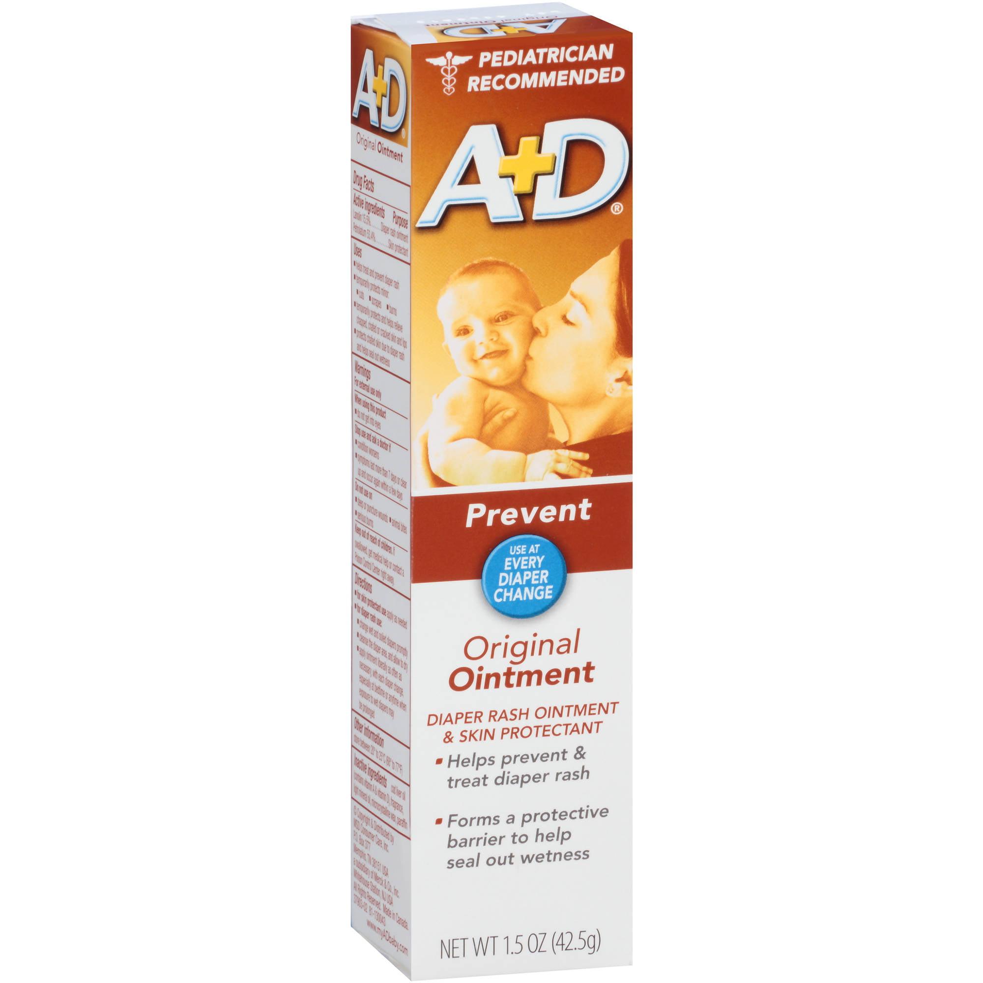 Schering Plough A+D  Diaper Rash Ointment & Skin Protectant, 1.5 oz