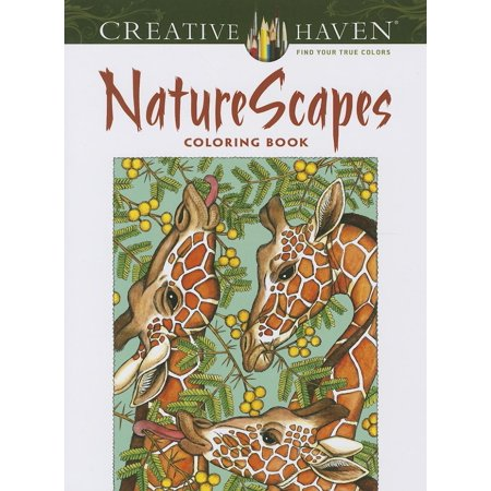 Creative Haven Coloring Books: NatureScapes (Paperback)](May Coloring Pages)