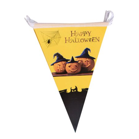 Mosunx 1 Set Halloween Hanging Holiday Party Decoration Ornaments DIY Pull The Flag](Fun Halloween Dip Ideas)