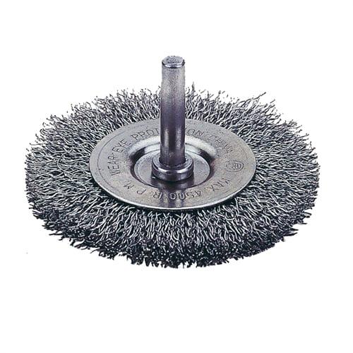 Firepower 1423-2100 Crimped Wire Wheel Brush, 1 1/2