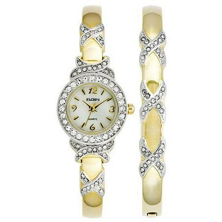 Women's XO Watch and Bracelet Bangle